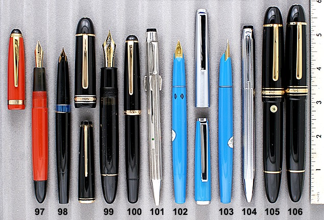 Vintage Montblanc Pens