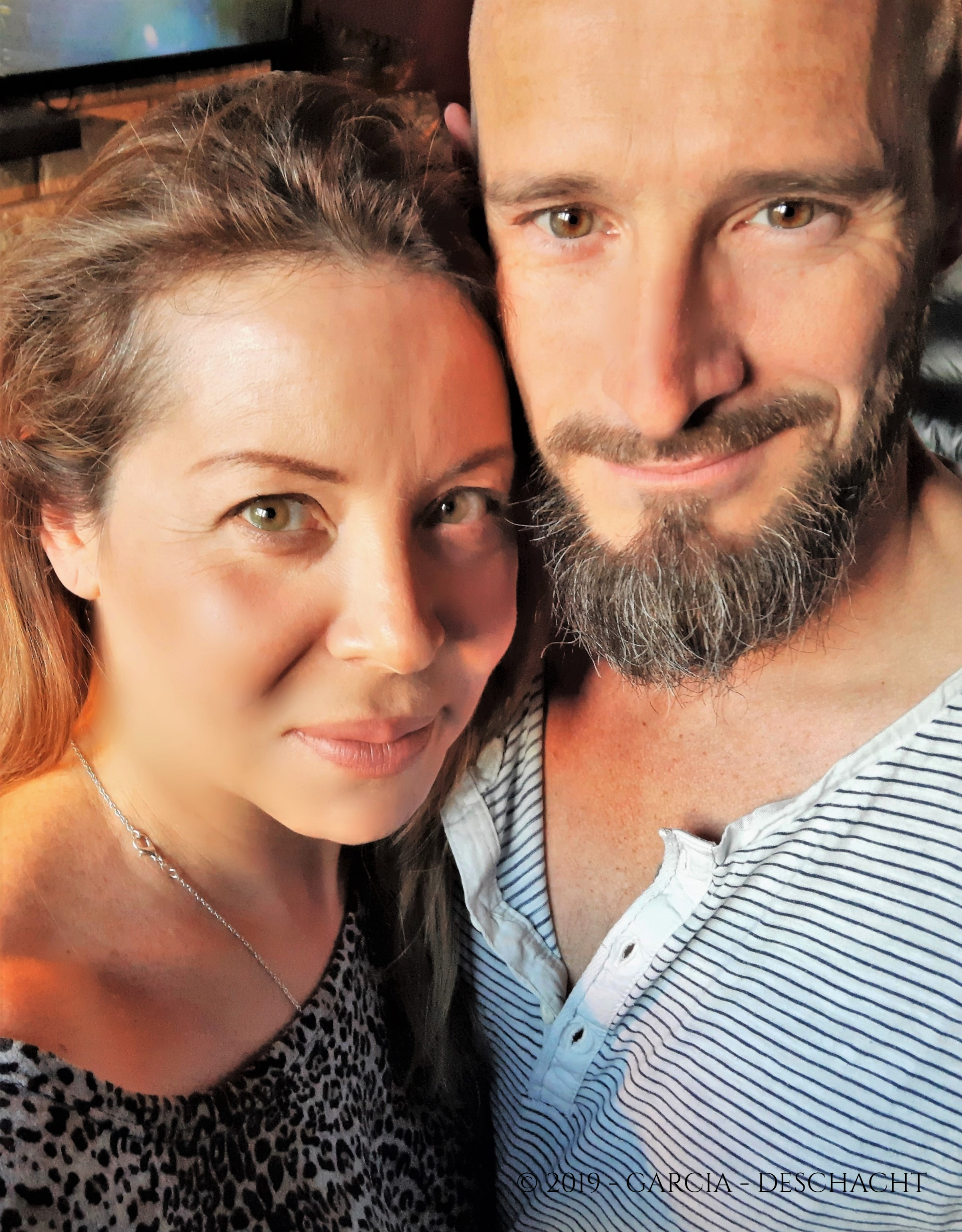Andy Deschacht and Laura Garcia Belli