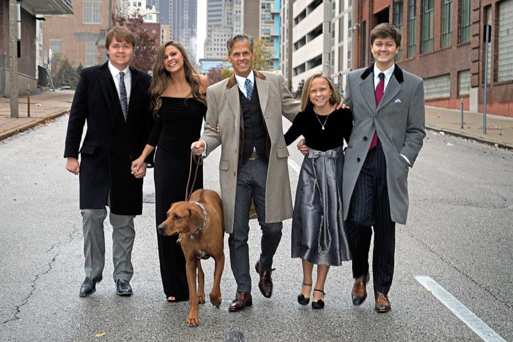 The Oscarson family
